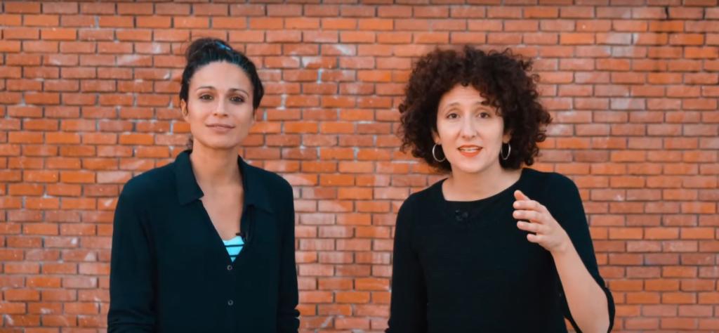 Isa García i Adriana Bertran